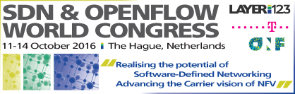 SDN World Congress, The Hague, Netherlands, Oct. 10-14